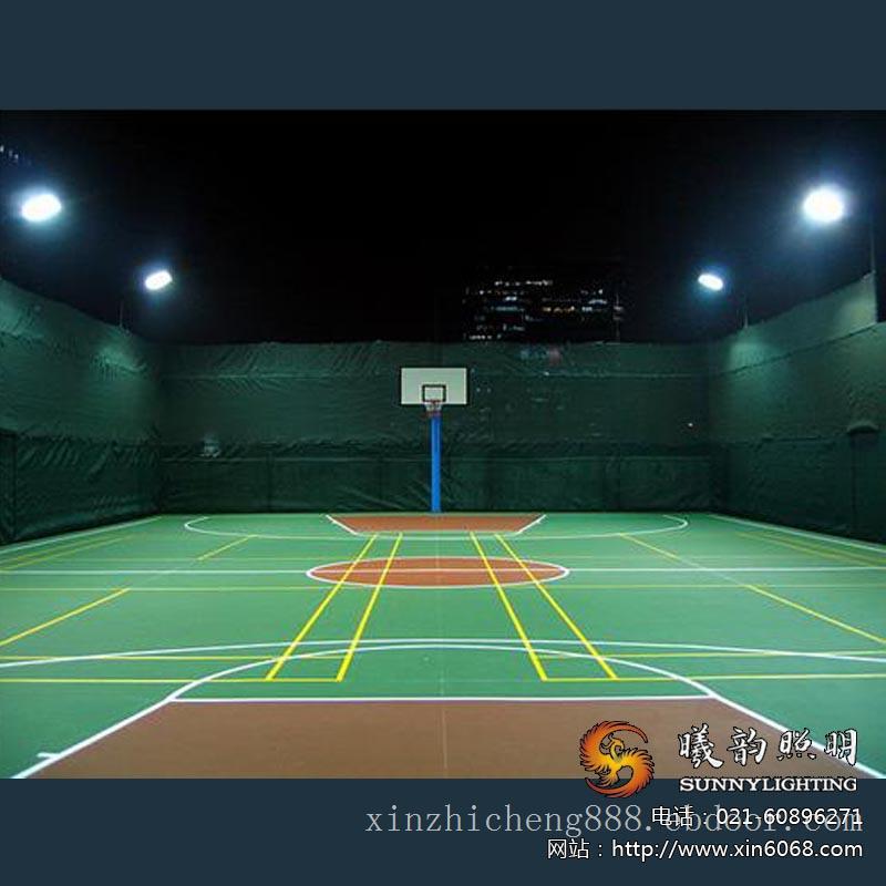 篮球场LED亮化灯光设计