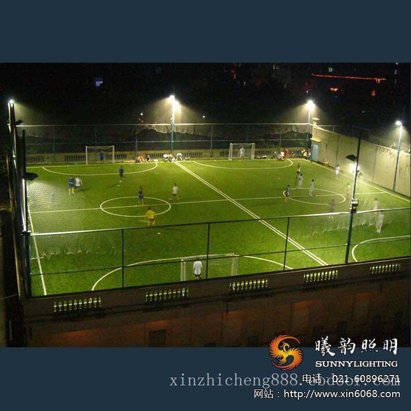 足球场亮化照明施工