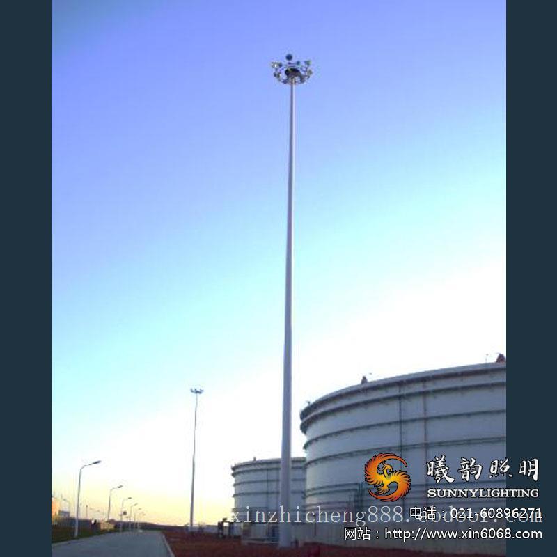 安全高杆灯施工