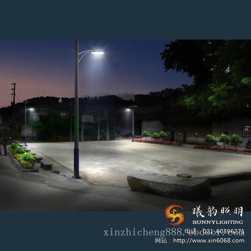 球场可倾式路灯亮化