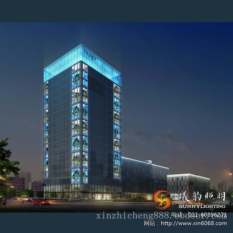商业建筑亮化设计