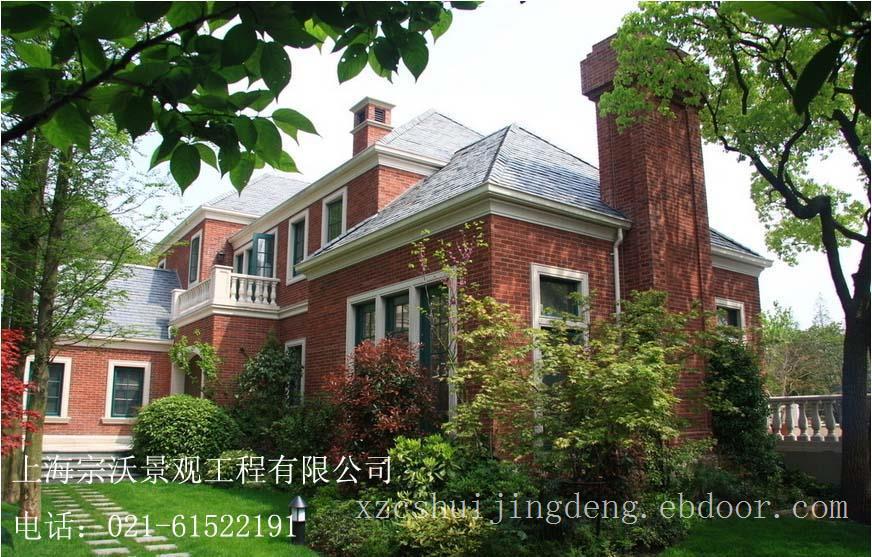 宁波花园别墅景观设计