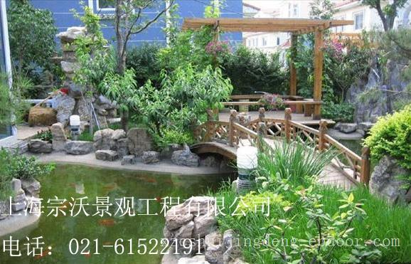 上海水景庭院景观绿化设计