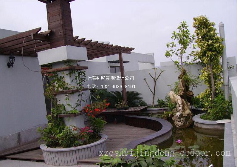 嘉兴屋顶花园景观设计