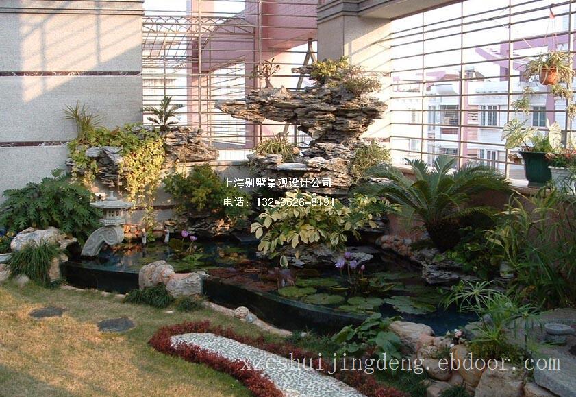 温州屋顶花园水景竞博电竞官网设计