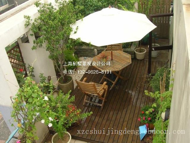 上海屋顶花园景观施工工程