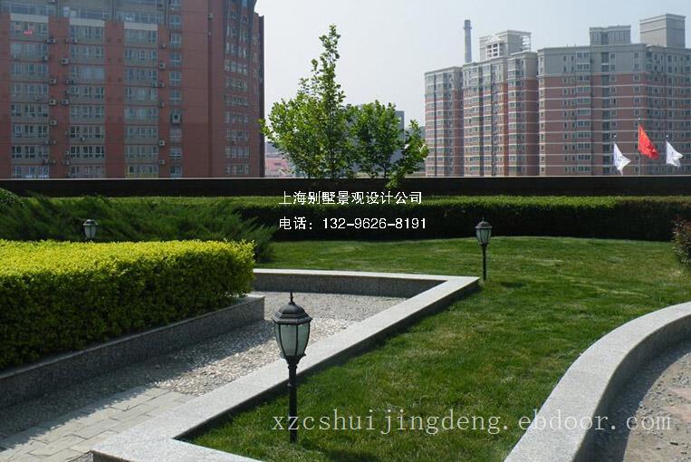 上海屋顶竞博电竞官网景观设计施工