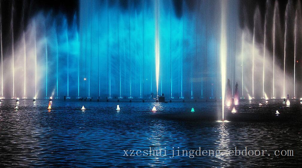苏州喷泉水景观亮化设计