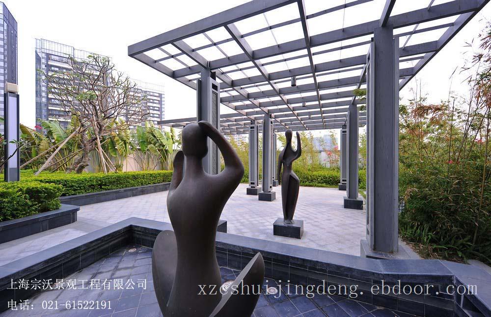 南京钢结构景观小品设计