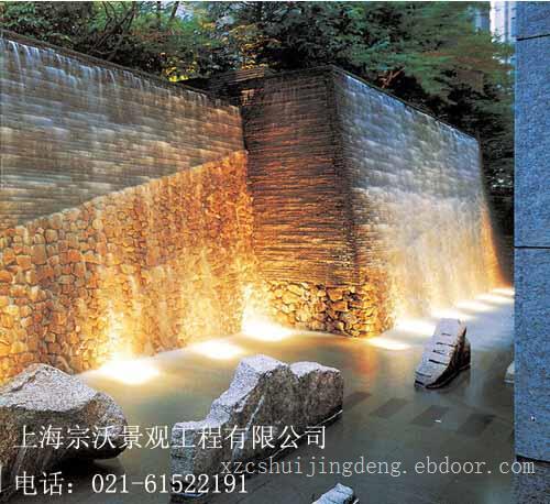 镇江水晶墙景观设计