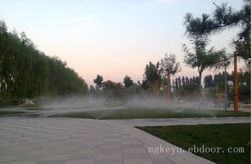 白洋淀别墅度假区中控项目_园林灌溉