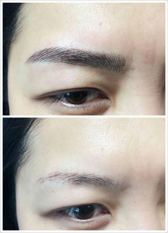 韩式定妆眉