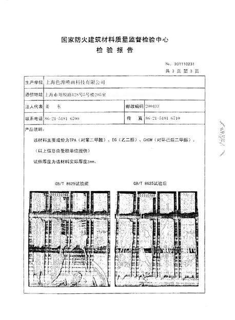 防火检验报告2