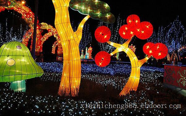 青浦节日彩灯设计、青浦节日装扮