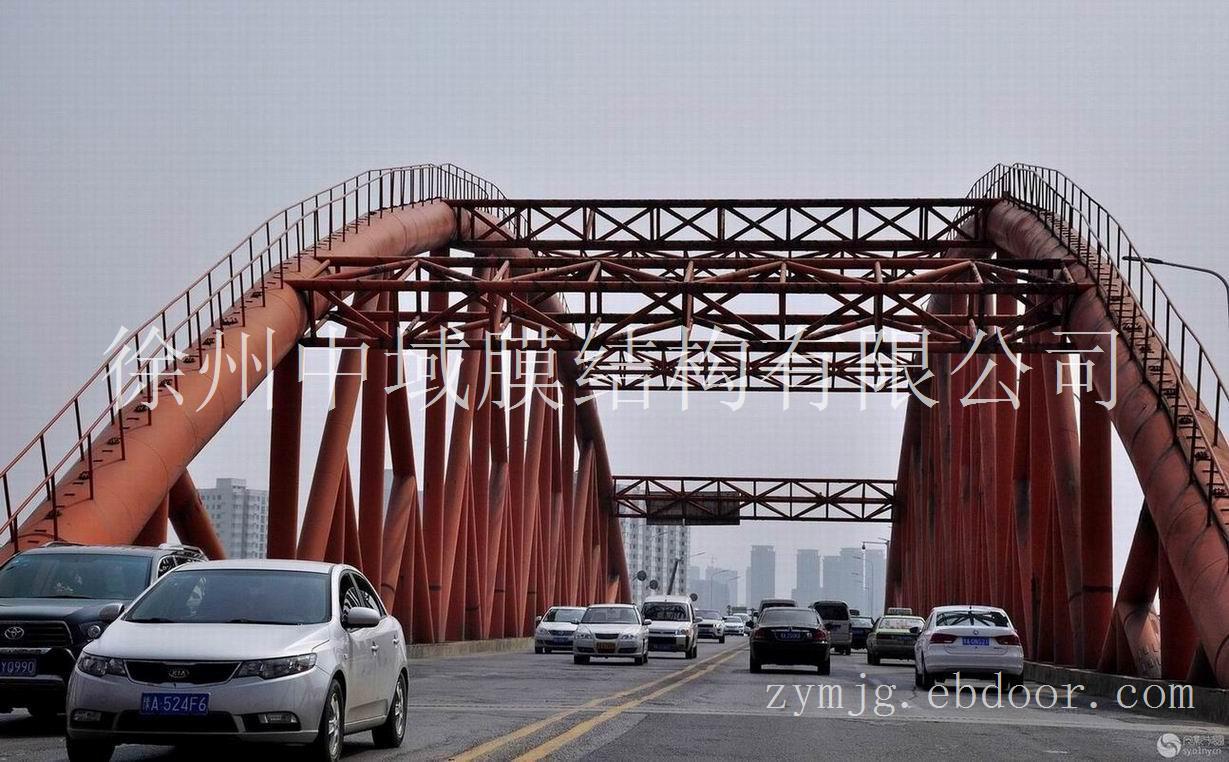 钢结构安装 郑州西环钢构桥