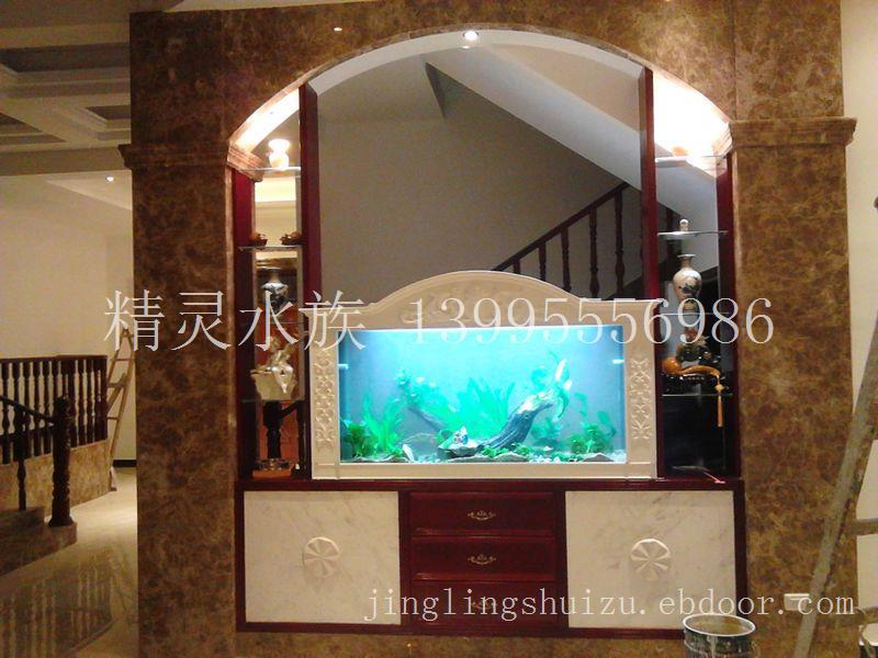 蔡甸别墅1.8米鱼缸