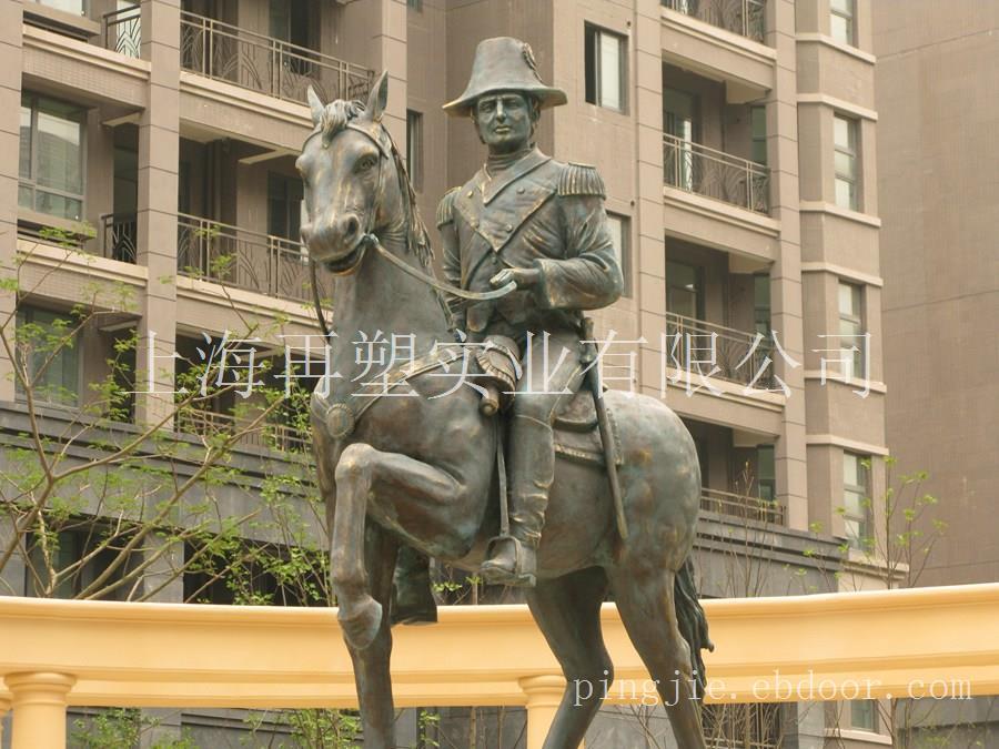 南昌绿地拿破仑雕像