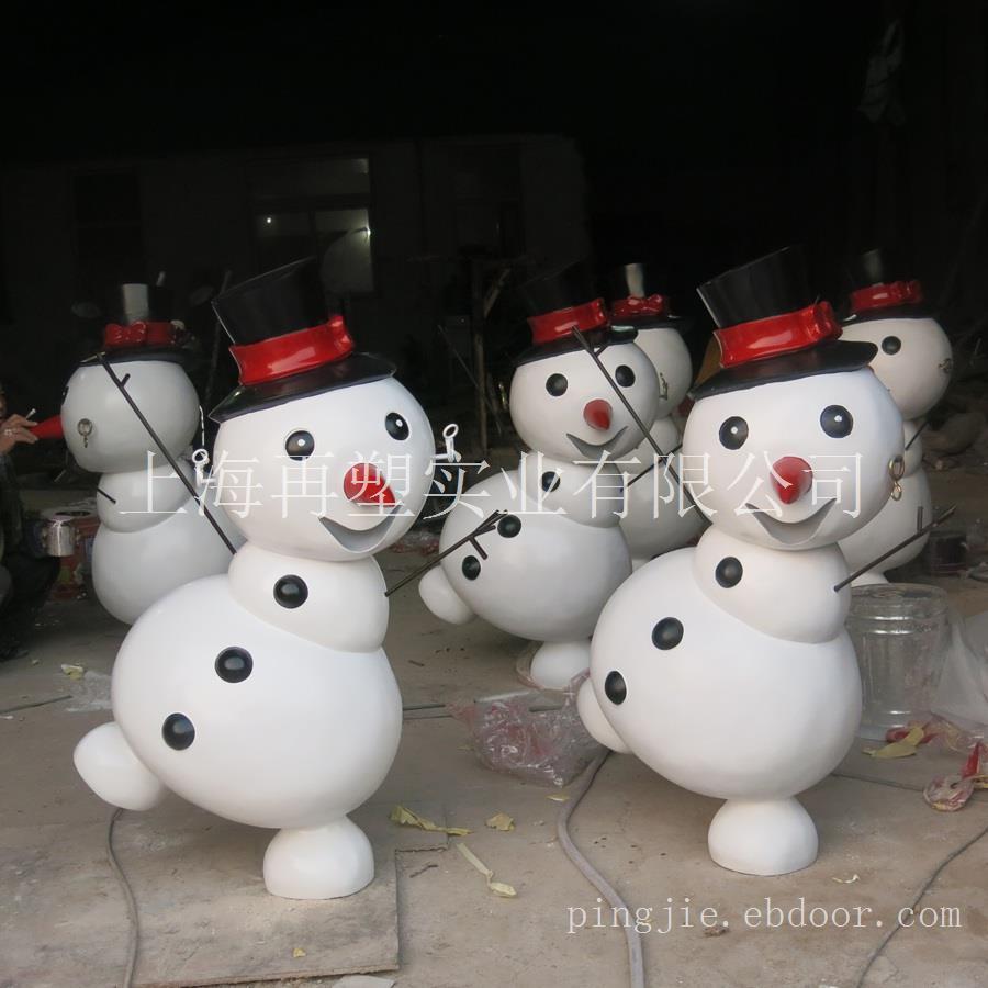 万达圣诞雪人