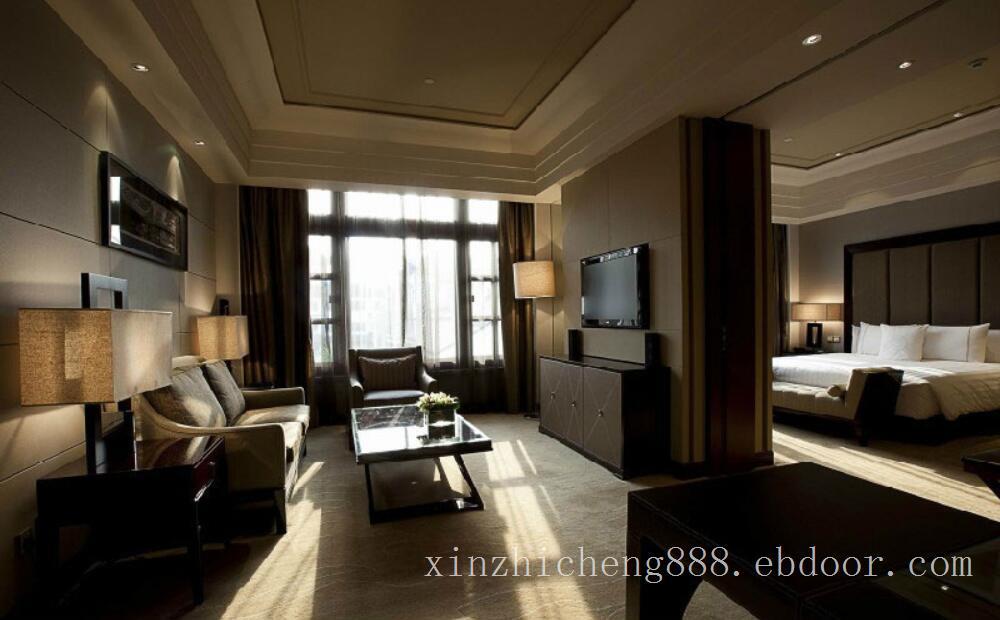五星级酒店套房客房灯光照明