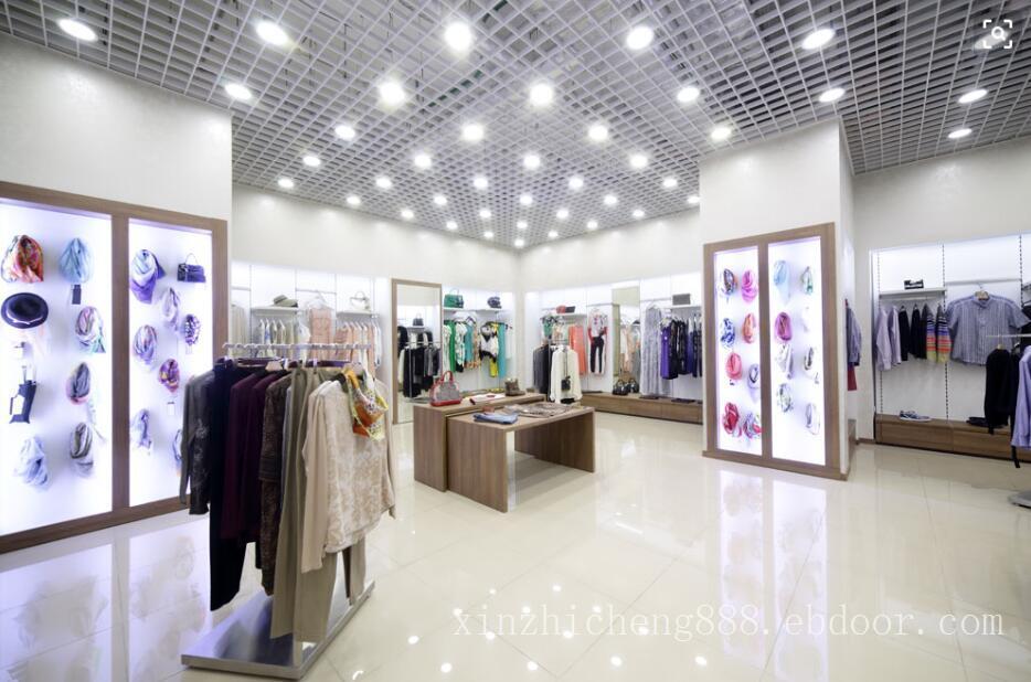 品牌连锁高级女装店灯光照明设计