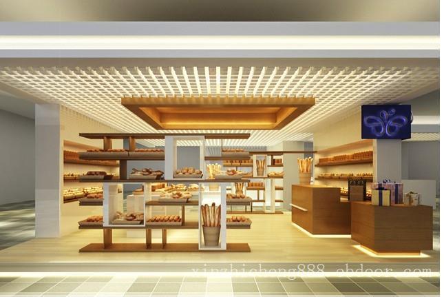 连锁面包店灯光照明设计