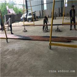 紫安科技工人在吊焊接好的铜管