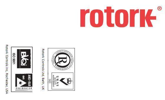 英国ROTORK公司认证