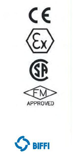美国TYCO BIFFI电动阀门执行机构认证