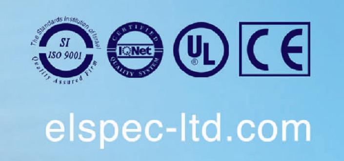 以色列ELSPEC公司相关认证